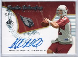 2008 Upper Deck SP Authentic Anthony Morelli