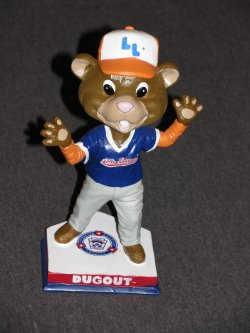 2015  Little League Dugout Mascot Bobblehead