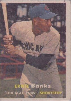 1957 Topps  Ernie Banks