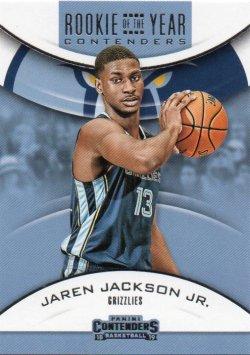 2018-19 Panini Contenders Jackson Jr, Jaren - Rookie of the Year Contenders Retail