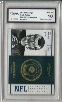 2012 Panini Prestige NFL Passport Nick Foles