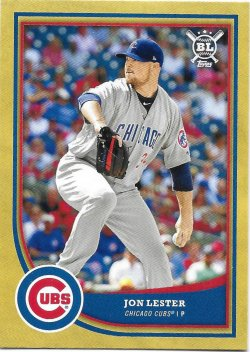 2018 Topps Big League Gold Lester