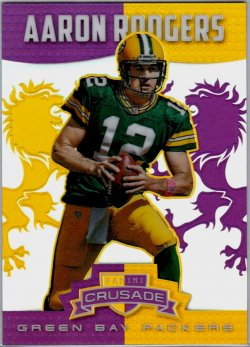 2014 Vet Purple Rodgers /49