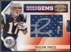 2010 Panini Gridiron Gear Taylor Price