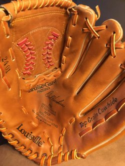 1988  Louisville 2401 Glove OREL HERSHISER  LA Dodgers NL CY YOUNG  88 World Series MVP