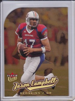 Jason Campbell 2005 Ultra Gold Medallion RC