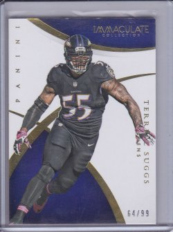 Terrell Suggs 2014 Panini Immaculate Collection /99