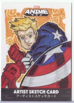 Marvel: Anime AARON ROBERTS (CAPTAIN AMERICA)