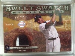 2009 Upper Deck Sweet Spot Dave Winfield Patch
