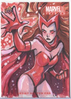 Marvel: Annual GRETEL LUSKY (SCARLET WITCH)