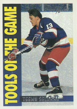 1994/95 O-Pee-Chee Premier Special Effects Selanne (Tools of the Game)