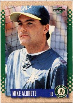 1995 Score  Aldrete, Mike