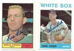 1961 & 19 Topps  TTM Eddie Fisher 9/20/21