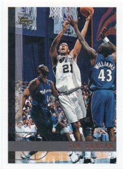 1997-98 Topps  Duncan, Tim