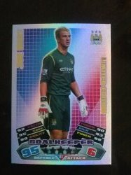 2011 Topps Match Attax Limited Edition Joe Hart
