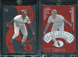 2000  EX Essential Credentials Now Frank Thomas