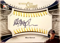 2011 In The Game Heroes and Prospects Max Kepler Between the Seams Gold