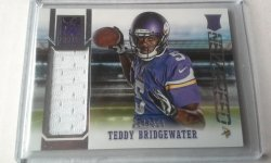 2014 Panini Elite New Breed Teddy Bridgewater
