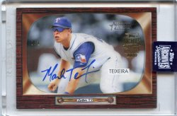 2020 Topps Archives Signature Mark Teixeira 2004 Bowman Heritage