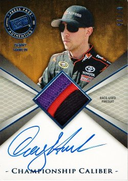 2015 Press Pass Chase for the Cup Denny Hamlin