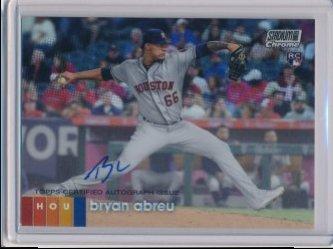 Bryan Abreu 2020 Stadium Club Chrome Autographs