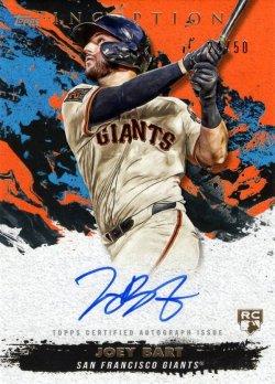 Joey Bart 2021 Topps Inception RC Autograph Orange