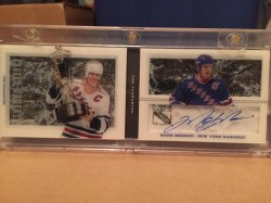 2013 Panini Dominion Mark Messier Frozen Moments auto
