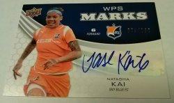 2010 Upper Deck WPS Marks 079/100 Natahsa Kai