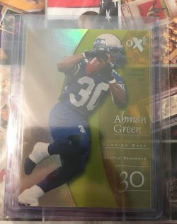 1998 Skybox Ex 2001 Essential Credentials Now Ahman Green