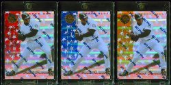 1997  Pinnacle Certified CERT Mirror Rainbow Frank Thomas