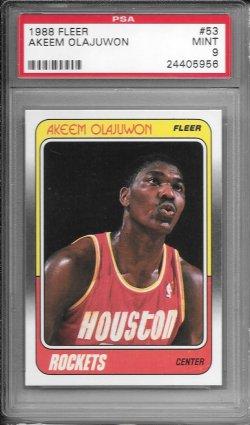 1988-89 Fleer  Akeem Olajuwon