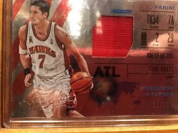 2015-16 Panini Absolute Frequent Flyer Materials Toni Kukoc