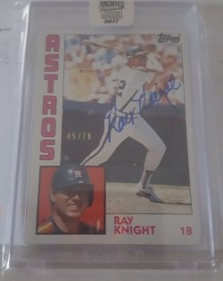 2017 Topps Archives Ray Knight