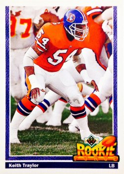 1991 Upper Deck Rookie Force Keith Traylor