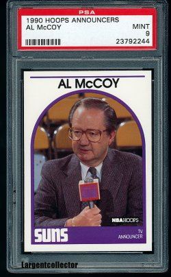 1990  Hoops Announcers Al McCoy
