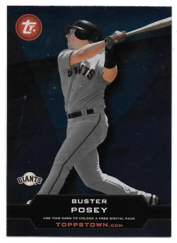 2011 Topps Topps Town Buster Posey
