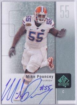 2011  SP Authentic - Autographs Mike Pouncey