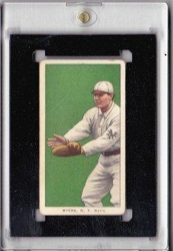 1909  T206 Piedmont 350 Chief Myers Fielding