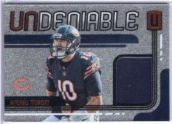 2019 Panini Unparalleled Mitchell Trubisky Undeniable