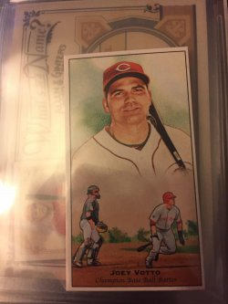 2011 Topps Champion Of Games And Sport Joey Votto