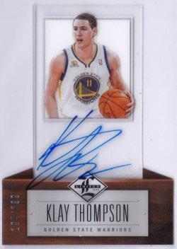 2012-13 Panini Limited Klay Thompson RC AU