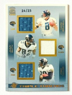 2002  Crown Royale Triple Threads Gold Brunell Smith Taylor