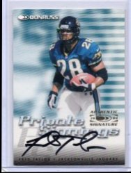 1999 Donruss Donruss Fred Taylor Private Signings