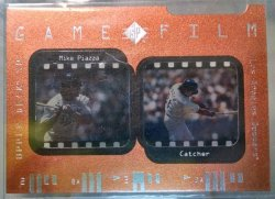 1997 Upper Deck SP Mike Piazza game film