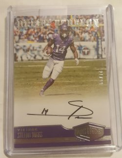 2016 Panini Plates & Patches Stefon Diggs
