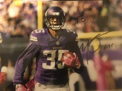 Marcus Sherels Signed Personalized 8x10