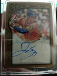 2011 Topps Gypsy Queen George Springer Gold Border