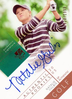 2003  SP Authentic Natalie Gulbis
