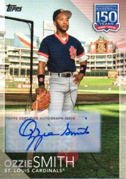 2019 Topps 150 Years of Professional Baseball Greatest Players Ozzie Smith