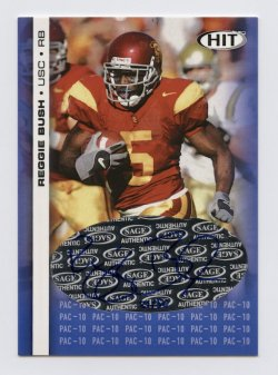 2006 SAGE HIT PAC-10 Autographs #PC3 Reggie Bush/50
